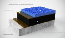 схема устройства резинового покрытия